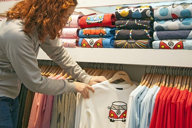 výběr triček