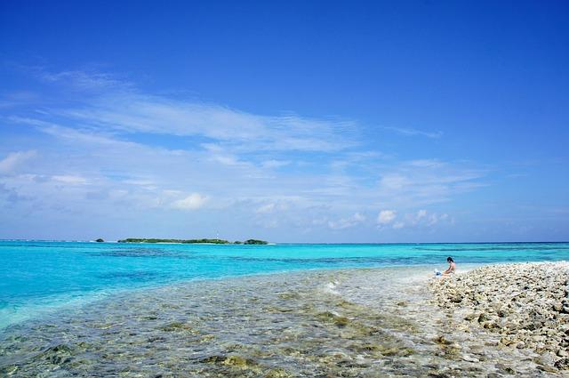 maledivy ostrov