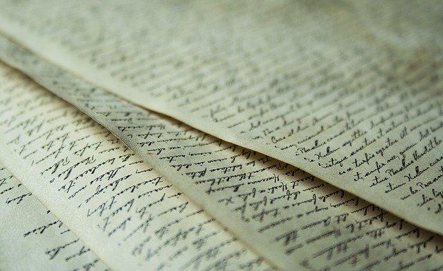 starožitný dokument