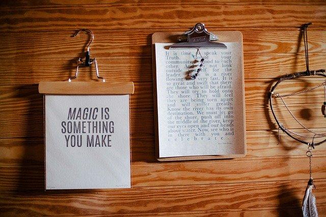 psaní je kouzlo